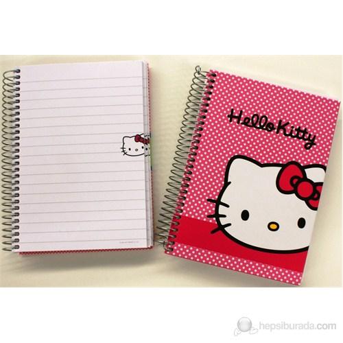 Hello Kitty Defter A6 100 Yaprak Çizgili