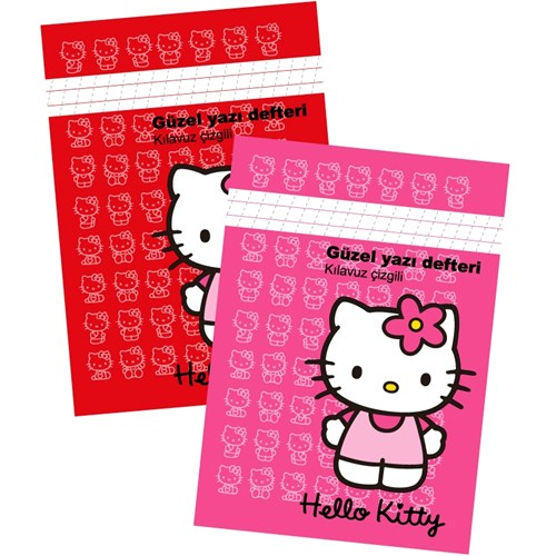 Hello Kitty Güzel Yazı Defteri A5 40 Yaprak