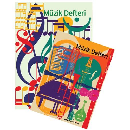 Umur Müzik Defteri A4 40 Yaprak