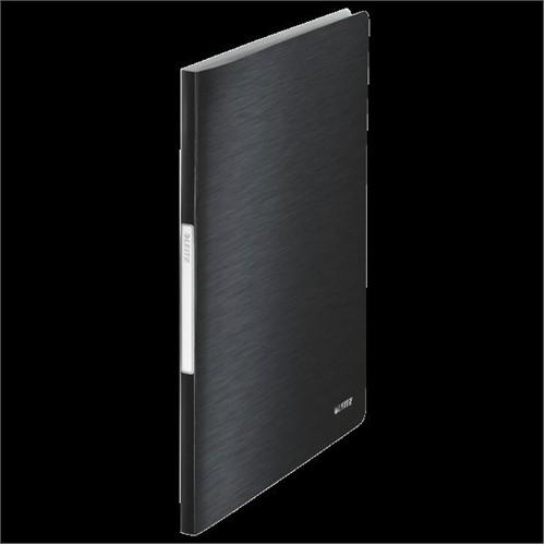 Leitz Style Sunum Dosyası 20 Poşetli Saten Siyahı 39580094