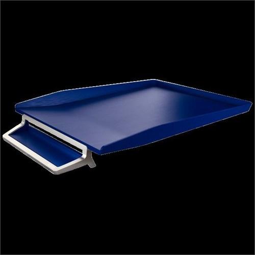 Leitz Style Kalemlikli Gümüş Çerçeveli Evrak Rafı Titan Mavisi 52560069