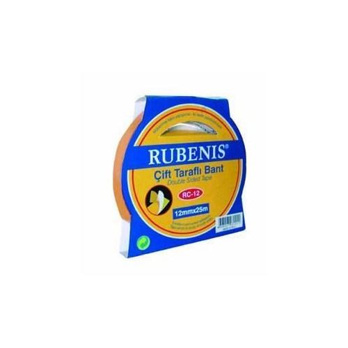 Rubenis Rc-12 Çift Taraflı Bant 12Mm X 25M