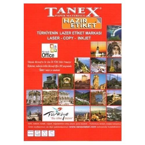 Tanex Tw-2712 Etiket 105 X 42 69Mm