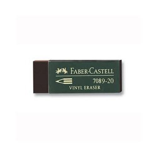Faber-Castell 7089/20 Siyah Silgi 20'li (5130188920)