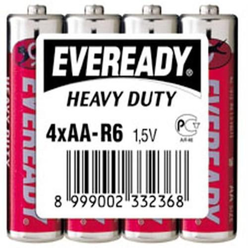 Energizer (C12-0038/0812) Eveready Çinko Karbon Aa Kalem Pil 4Lü Shrink