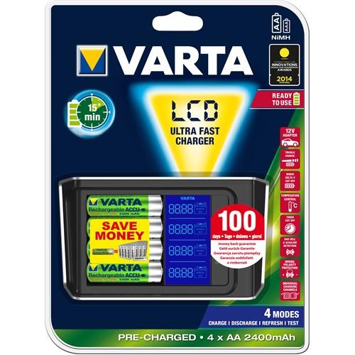 Varta Lcd 15 Min. Charger 57675101441