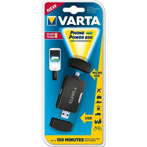 Varta Micro Usb Mini Powerpack 800Mah 57921101401