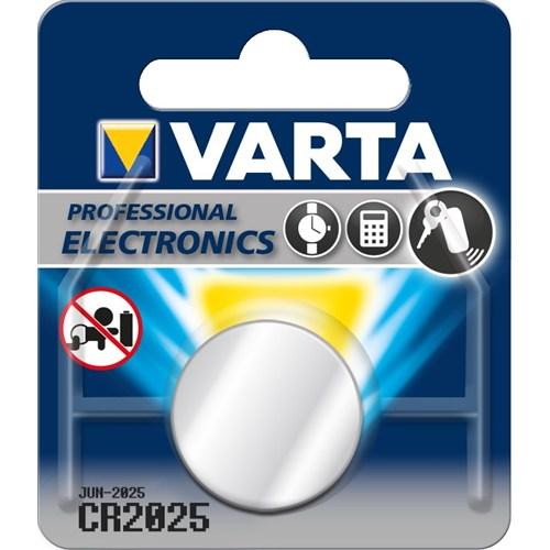 Varta Professional Cr2025 Lithium 3V Bls 1 6025101401