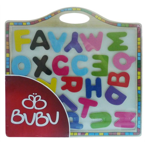 Bu-Bu Manyetik Ahşap Harf Puzzle Bubu-Ap0002