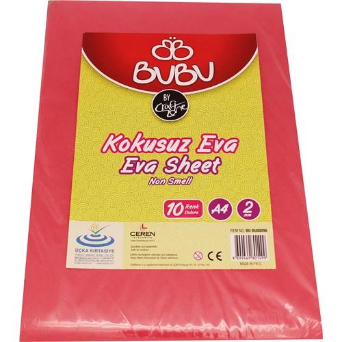 Bu-Bu Eva A4 2Mm 10 Renk Bubu00098