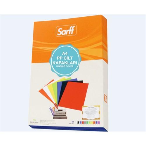 Sarff 450Mic.A4 Opak Sarı Pp Kapak 50 Ad. 15201107