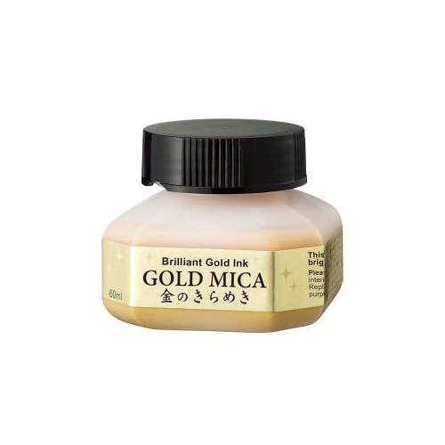 Zig Gold Mica Metalik Altın Renk Mürekkep 60 Ml.