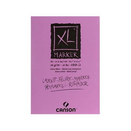 Canson Xl Marker Blok 70 Gr. 100 Sayfa A4