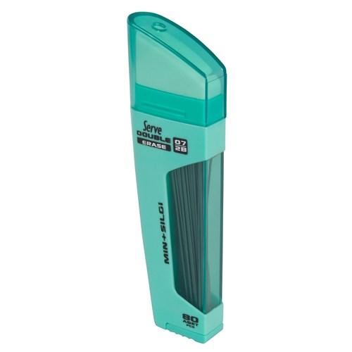 Serve Double Erase Min+Silgi 0,7 N.Yeşili 10 Lu Sv-Dsmny07