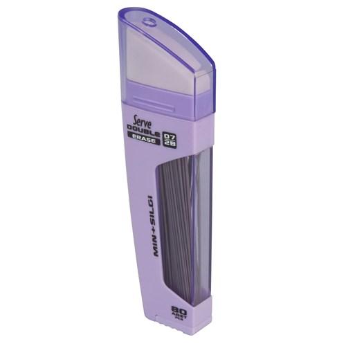 Serve Double Erase Min+Silgi 0,7 Lavanta 10 Lu Sv-Dsmla07