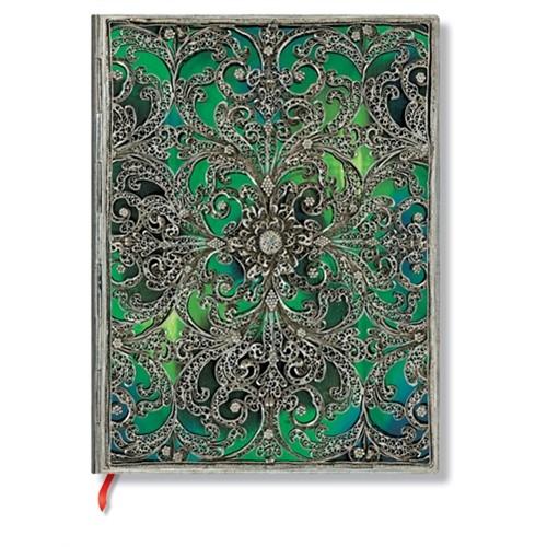 Paperblanks Defter 2887-1 Esmeralda Ultra Çizgisiz