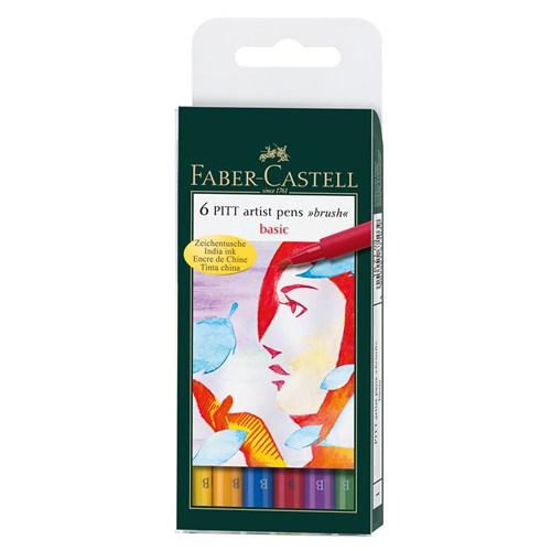 Faber Castell 167103 Pitt Set Ana Renkler