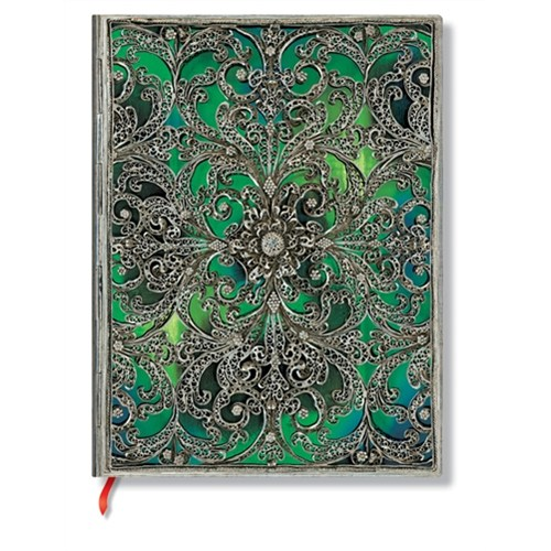Paperblanks Defter Esmeralda Midi Çizgili 2884-0