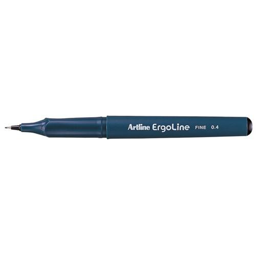 Artline Erg-3400 Siyah Keçe Uçlu Kalem 0,4Mm Uç Kalınlığı