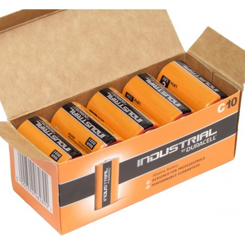 Duracell Orta Boy (C) Alkalin Endüstriyel Pil 10'Lu Paket