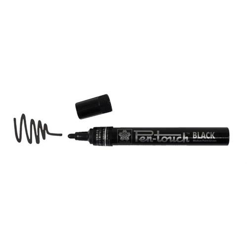Sakura Pen/Touch Paint Marker Yaldızlı Kalem 2.0 Mm Siyah