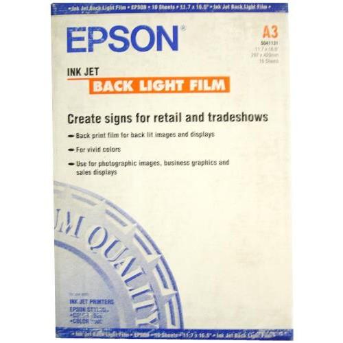 Epson Inkjet Back Lıght Fılm A3 10 Ad