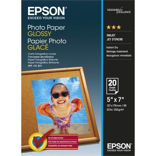Epson Glossy Photo Paper 13X18 200Gr (20Li)