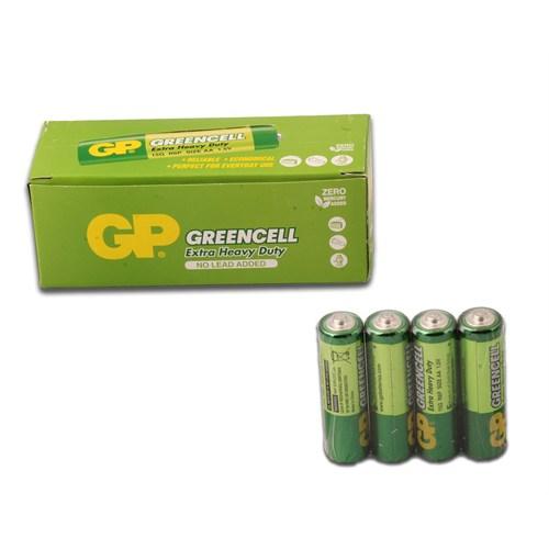 GP 40'lı Greencel AA Boy Kalem Çinko Karbon Pil (GP15G-2S40)