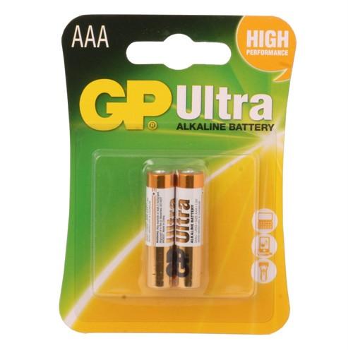 Gp Lr03 Ultra Alkalin (2Li) İnce Kalem Pil
