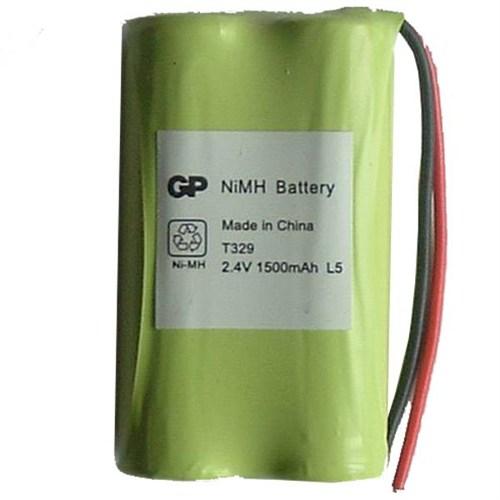 GP T329 2.4V 1500mAh 2'li Telsiz Telefon Pili