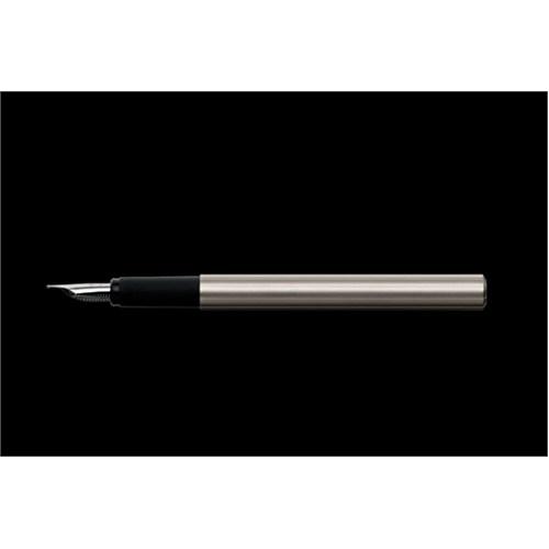 Porsche Design P3125 Slim Line Silver Fountain Pen Ef