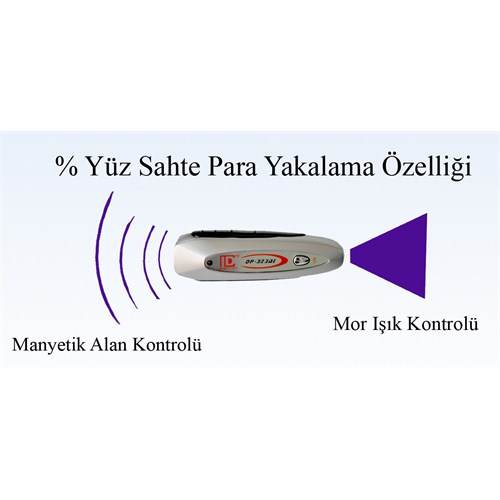 Segma Mobil Type Sahte Para Kontrol Dedektörü