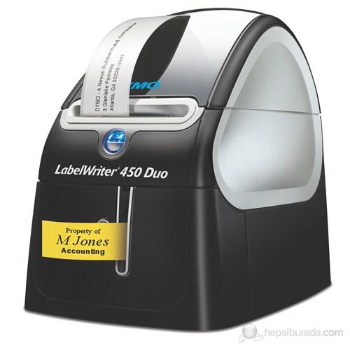 Dymo Labelwriter 450 Duo Bilgisayar Bağlantılı Etiket Yazıcı