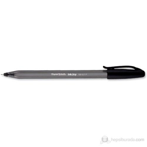 Papermate İnkjoy 100 Kapaklı Ulv M.Siyah Tükenmez Kalem