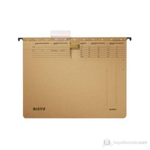 Leitz Alpha® Askılı Dosya Telli 10'Lu Kraft 19143000