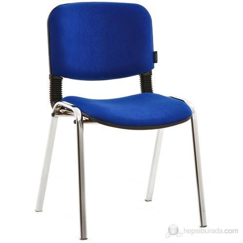 Koltuk Form Sandalye Krom - Mavi