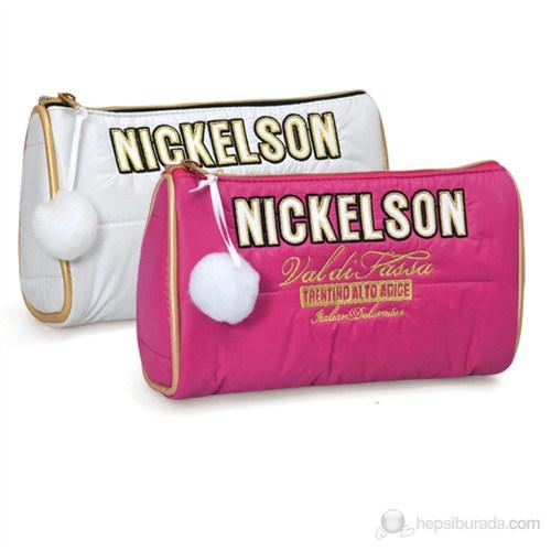 Nickelson Kalem Çantası Fuşya 22x15x5 cm
