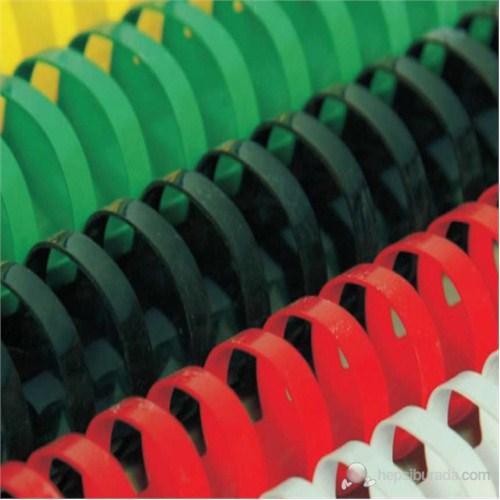 Mapibind 12 mm Plastik Spiral - 100 Adet Siyah