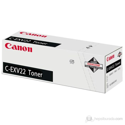 Canon Cexv-22 (Ir-5055-5065-5075) Orjinal Toner