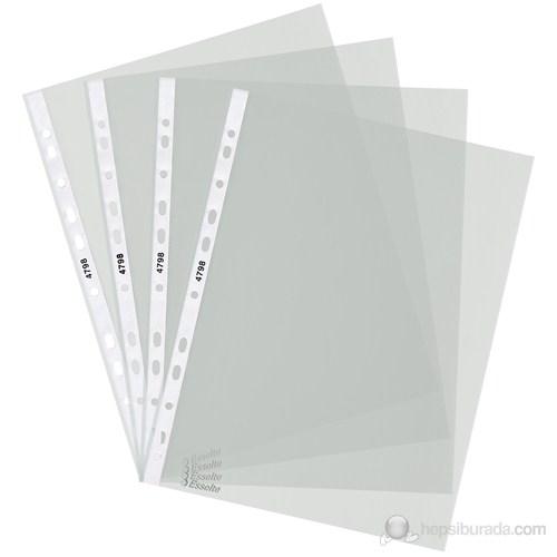 Esselte Poşet Dosya Ekonomi A4 11 Delikli (100 Adet) Buzlu 479815