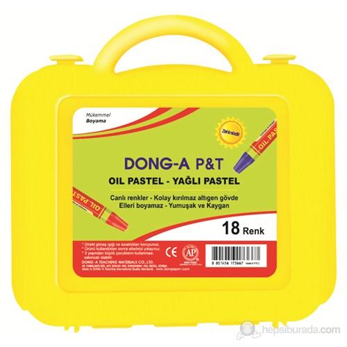 Dong-A 261118 18 Renk Pastel Boya (Plastik Çantalı)