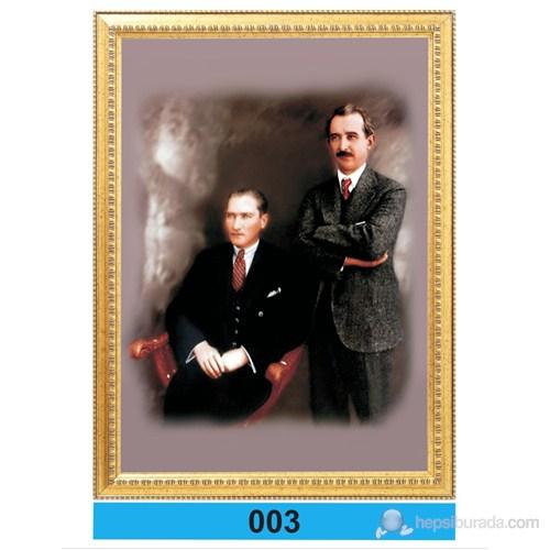 İnter 50x70 Varaklı Atatürk Portresi 003