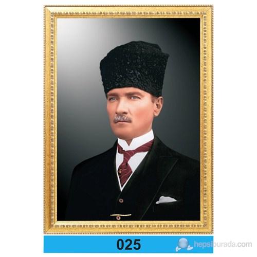 İnter 50x70 cm Varaklı Atatürk Portresi İNT-025