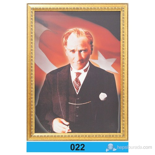 İnter 50x70 cm Varaklı Atatürk Portresi İNT-022