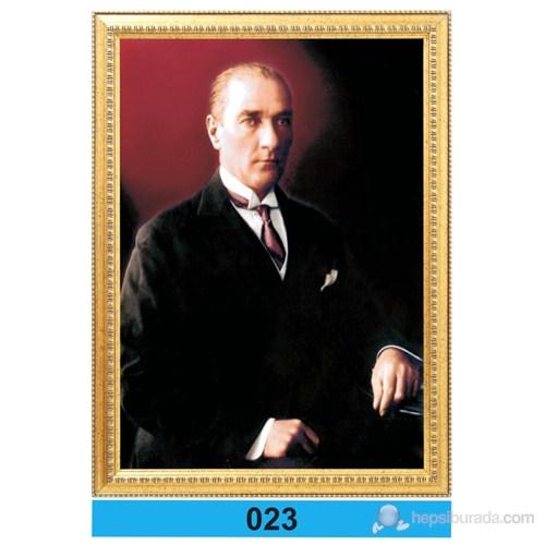 İnter 50x70 cm Varaklı Atatürk Portresi İNT-023