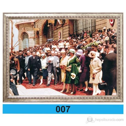 İnter 50x70 cm Varaklı Atatürk Portresi İNT-007