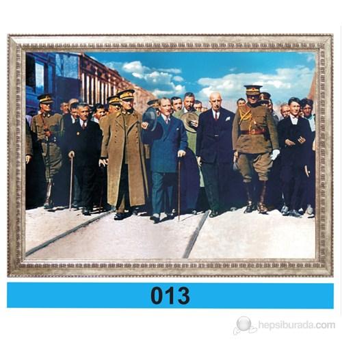 İnter 50x70 cm Varaklı Atatürk Portresi İNT-013