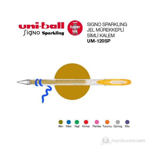 Uni-ball Signo Sparkling Simli Jel Mürekkepli Kalem (UM-120SP)