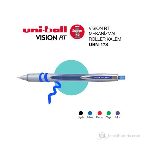 Uni-ball Vision RT Mekanizmalı Roller Kalem 0,8 1'li (UBN-178)