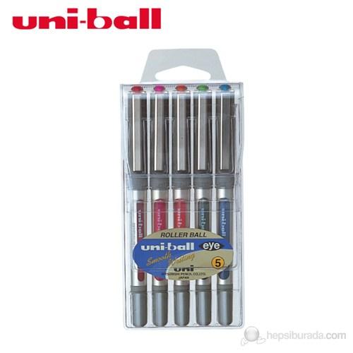 Uni-ball UB-157 Eye Micro Roller Kalem 0.7 mm 5'li Paket